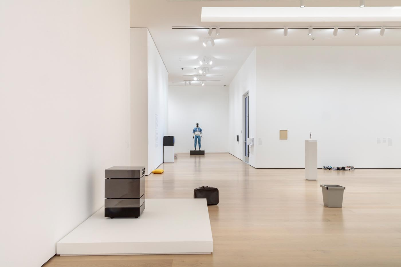 <p>exhibition view<br />photo: Brian Forrest, Image courtesy of the Hammer Museum</p>